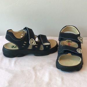 NIB**Navy Naturino Boys Summer Sandals**US 13 1/2
